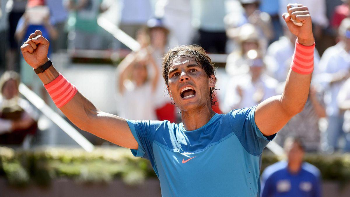 Rafael Nadal (Madrid) vs Berdych - 09/05/2015