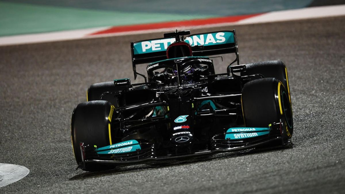 La Mercedes di Lewis Hamilton