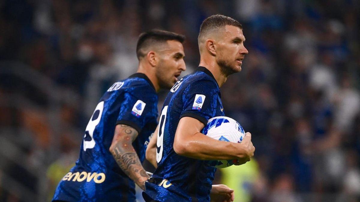 Dzeko firma il pareggio in Inter-Atalanta - Serie A 2021/2022