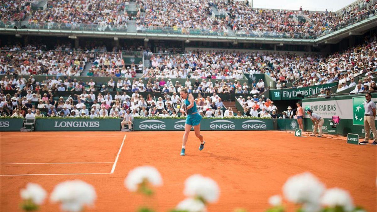 Simona Halep, la Roland Garros 2018