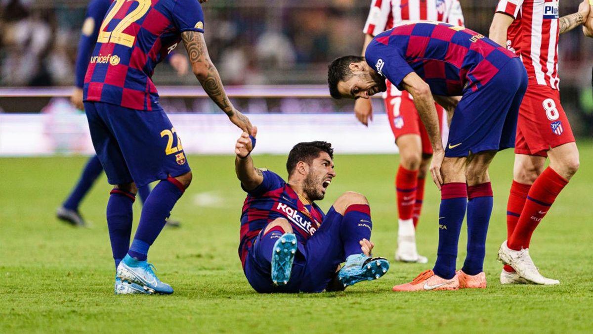 Luis Suarez vom FC Barcelona
