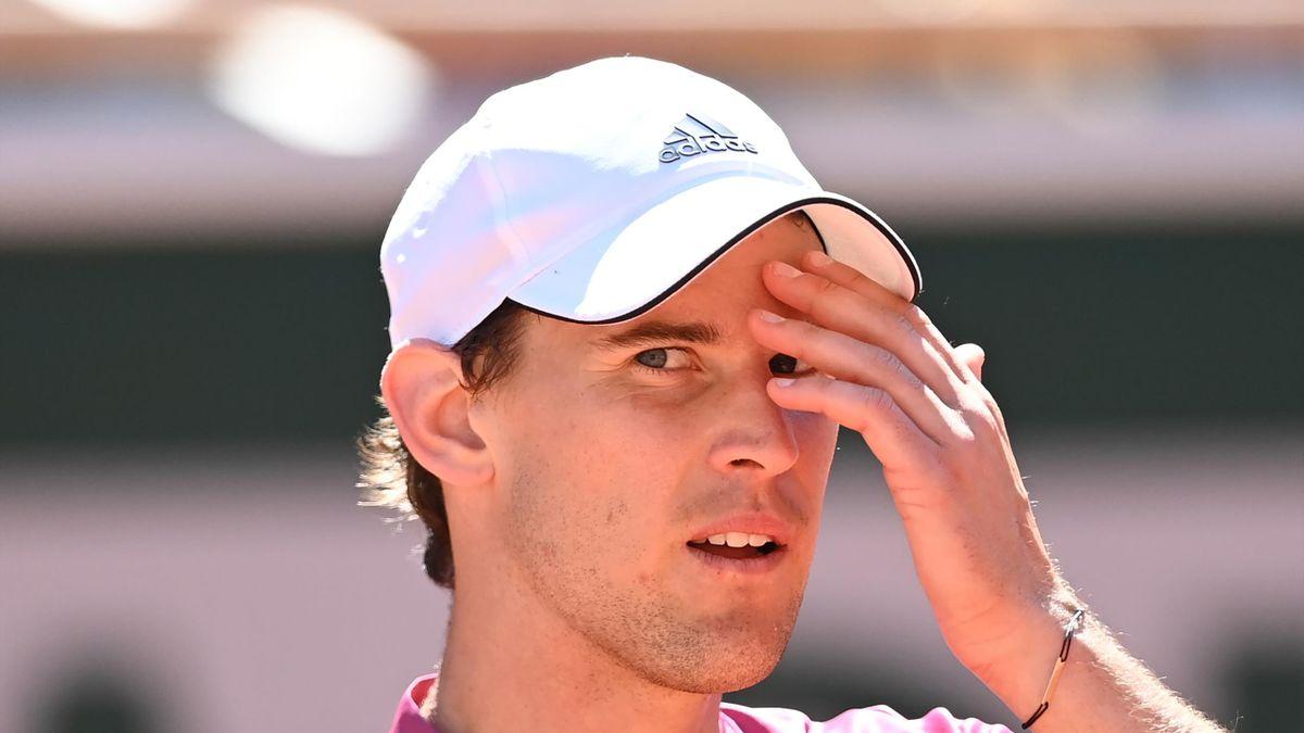 Dominic Thiem  Roland Garros 2021