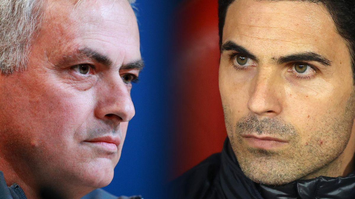 Jose Mourinho a câştigat duelul cu Arteta, dar l-a lăudat pe iberic