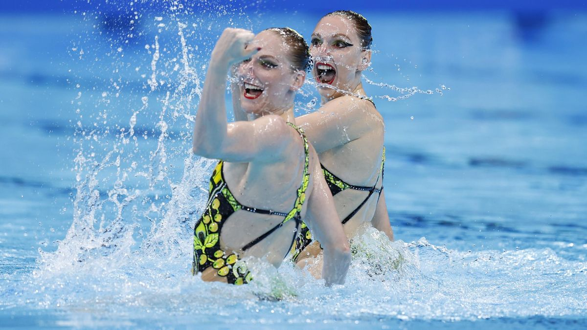 Светлана Ромашина и Светлана Колесниченко, Россия, синхронное плавание, Олимпиада в Токио-2020