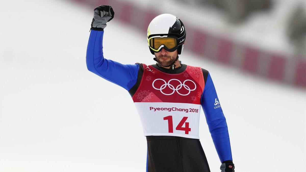 Jason Lamy-Chappuis lors des JO de Pyeongchang