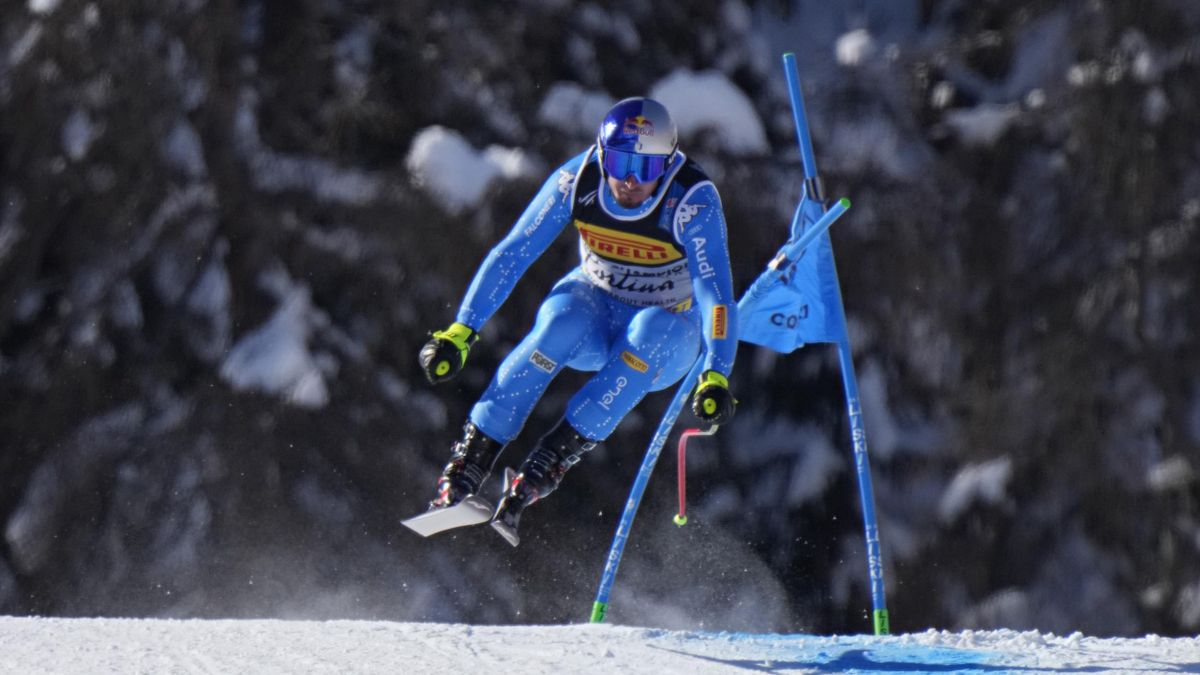 Dominik Paris ai mondiali di Cortina 2021