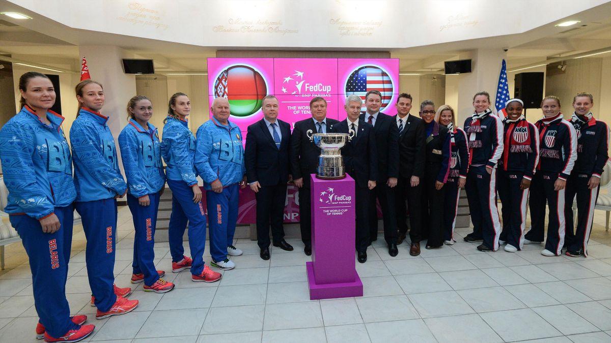 Белоруссия – США перед финалом Кубка Федерации-2017