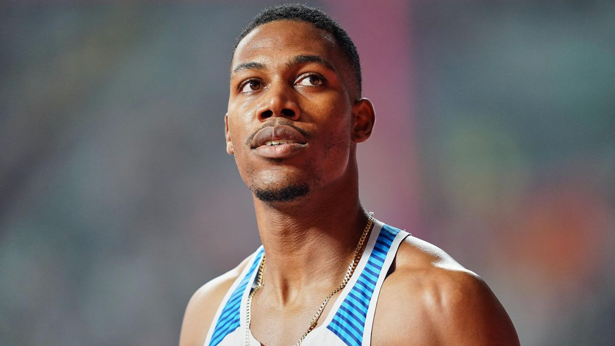 Britain's Zharnel Hughes is yet to decide on which disciplines to focus on at Tokyo 2020
