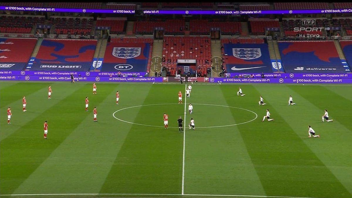 Польша и Англия перед матчем