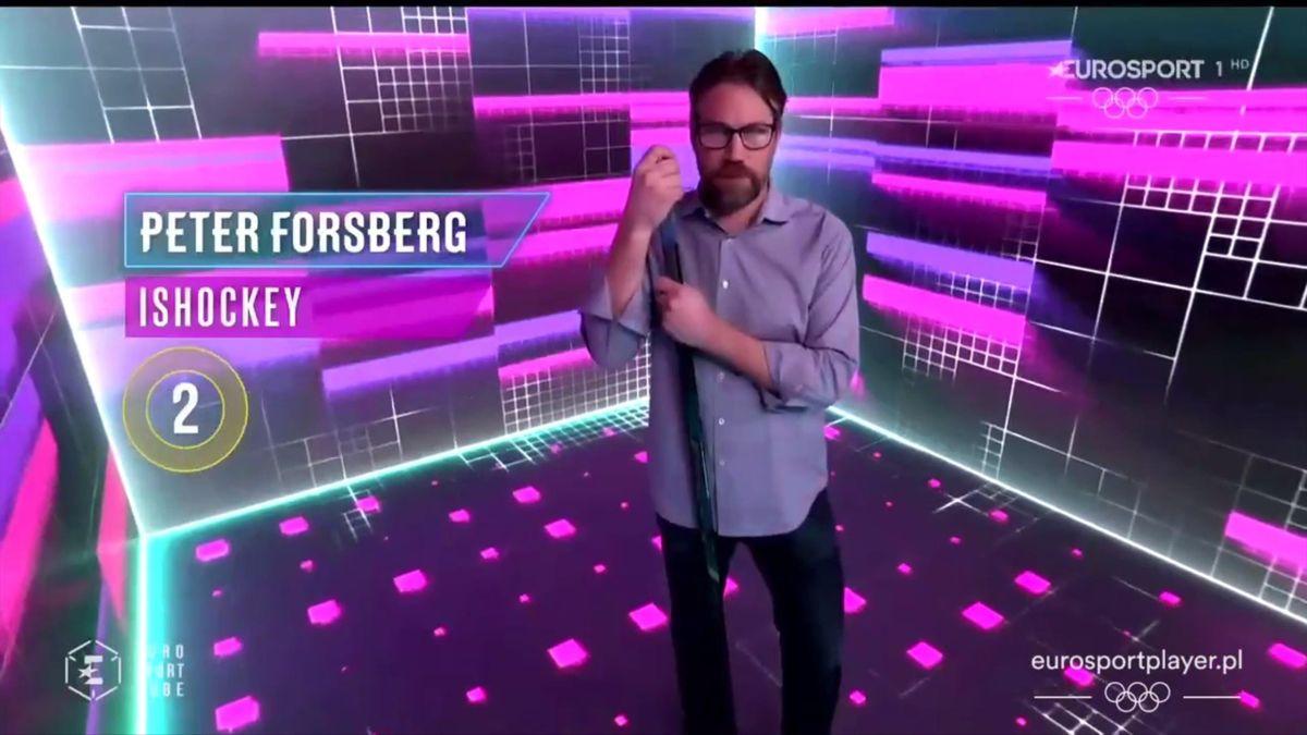 Peter Forsberg, cube