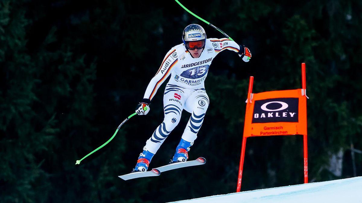 Thomas Dreßen in Garmisch 2020