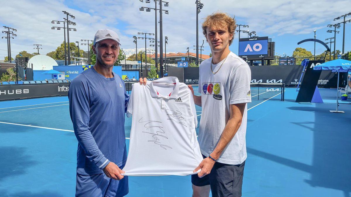 Wir verloren ein Shirt von Alexander Zverev aus dem ATP-Cup