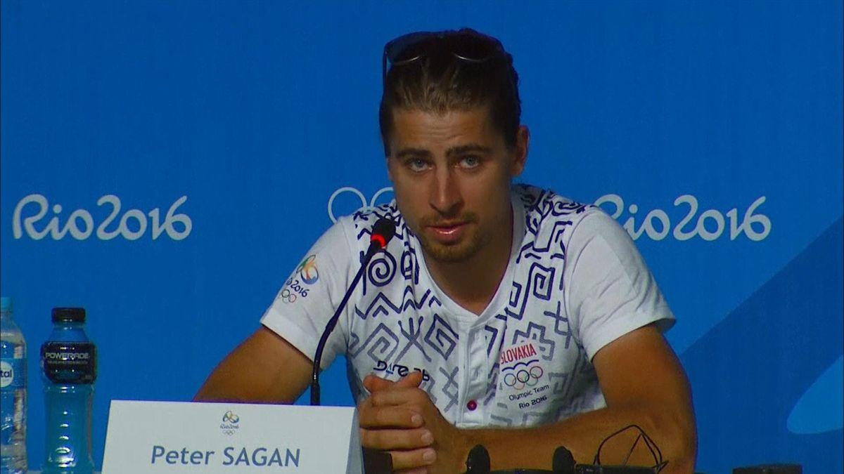 Peter Sagan bei Olympia in Rio 2016