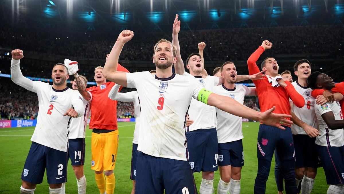 Харри Кейн, Англия – Дания, Евро-2020