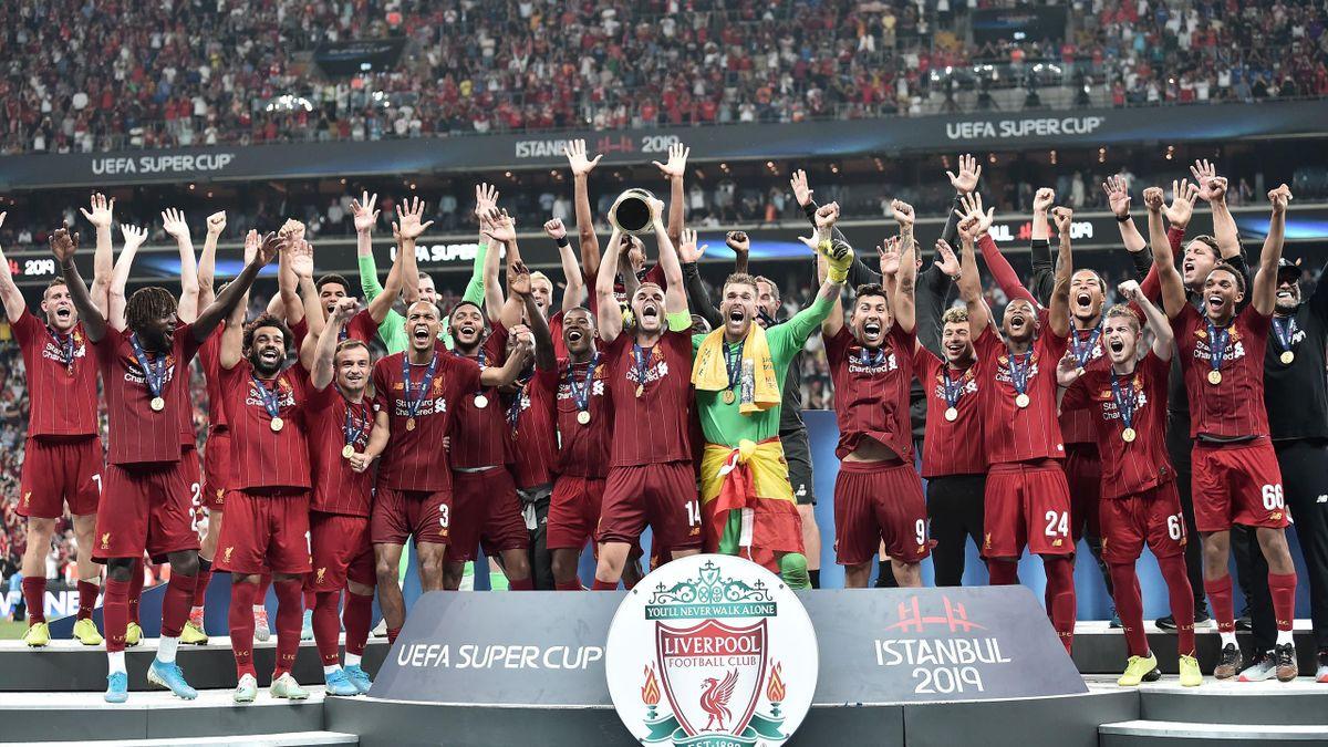 Liverpool win European Super cup