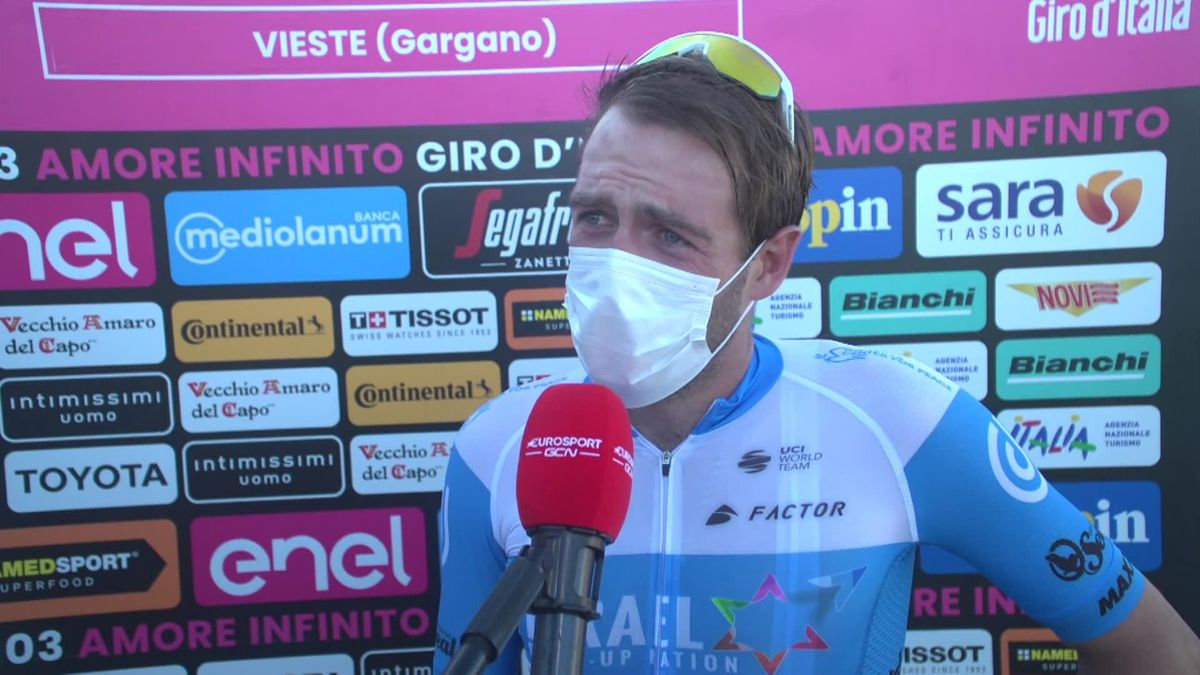 Giro 2020 - Stage 8 : Alex Dowsett winner Interview