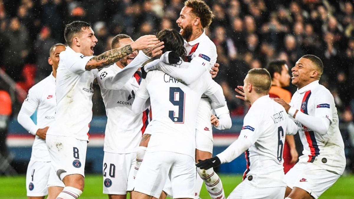 Champions League   PSG, fără Edinson Cavani și Thomas Meunier sferturile competiției