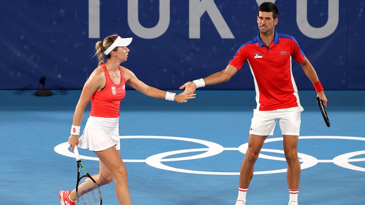 Nina Stojanovic & Novak Djokovic