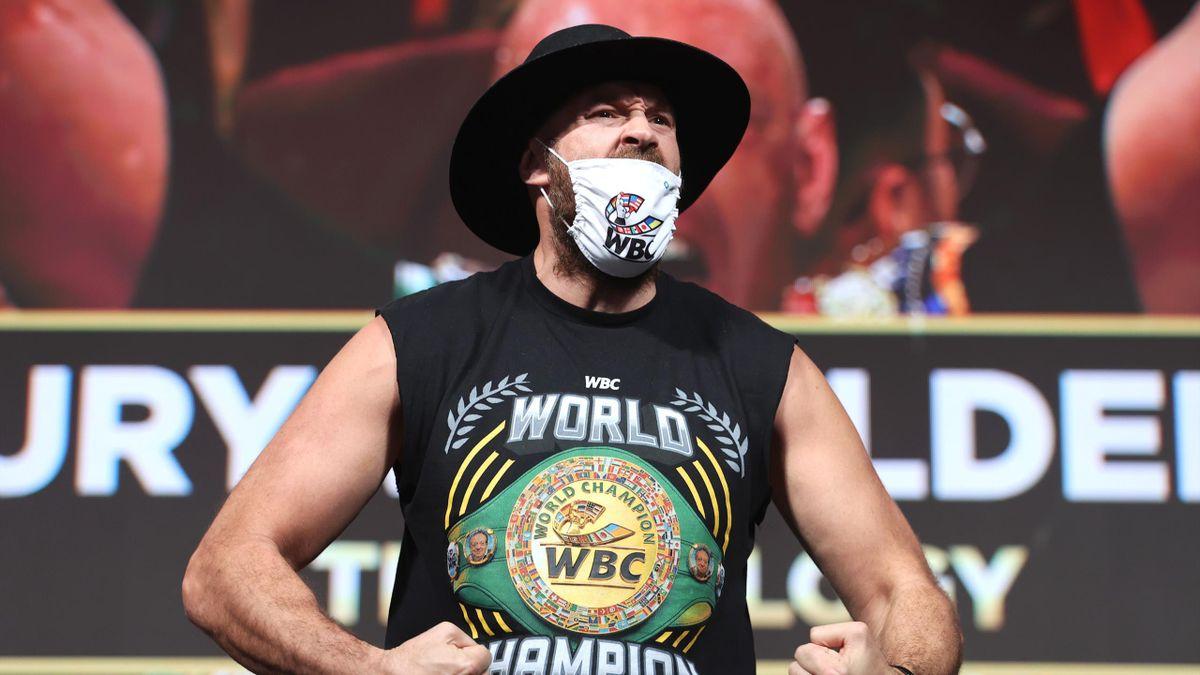 Tyson Fury klopft vor dem Titel-Fight gegen Deontay Wilder große Sprüche