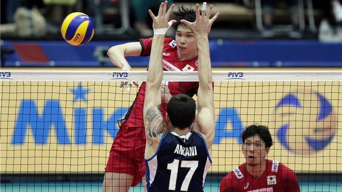 Anzani in Giappone-Italia di Nations League