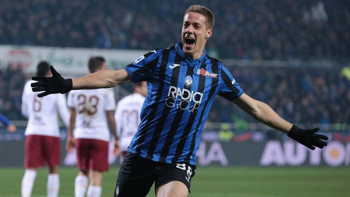 Pasalic - Atalanta-Roma - Serie A 2019/2020 - Imago pub not in UK