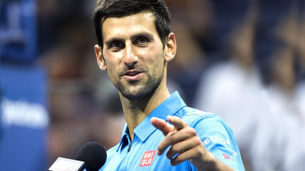 Novak Djokovic bei den US Open
