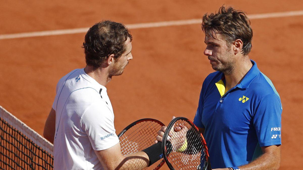 Andy Murray og Stan Wawrinka