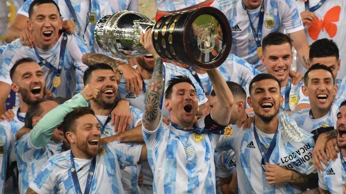 Lionel Messi und Argentinien gewinnen die Copa America 2021