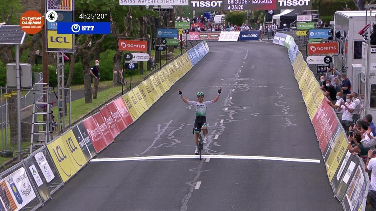 Critérium du Dauphiné | Lukas Postlberger wint tweede etappe en pakt leiding in klassement