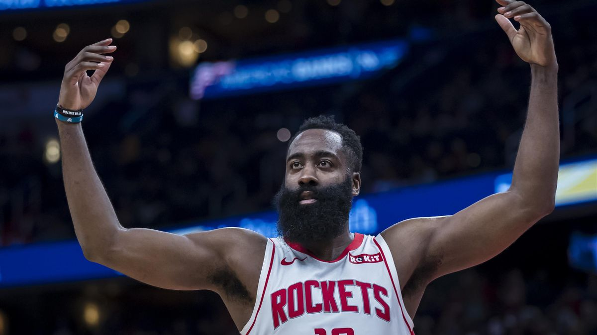 James Harden en feu lors de la victoire de Houston face à Washington, le 30 octobre 2019