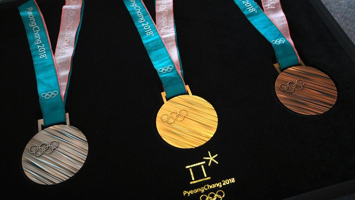 Die Medallien der Winterspiele in Pyeongchang