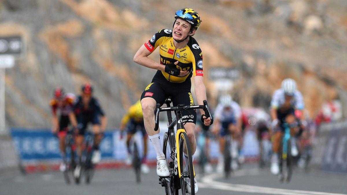 Jonas Vingegaard a câștigat etapa a 5-a din UAE Tour