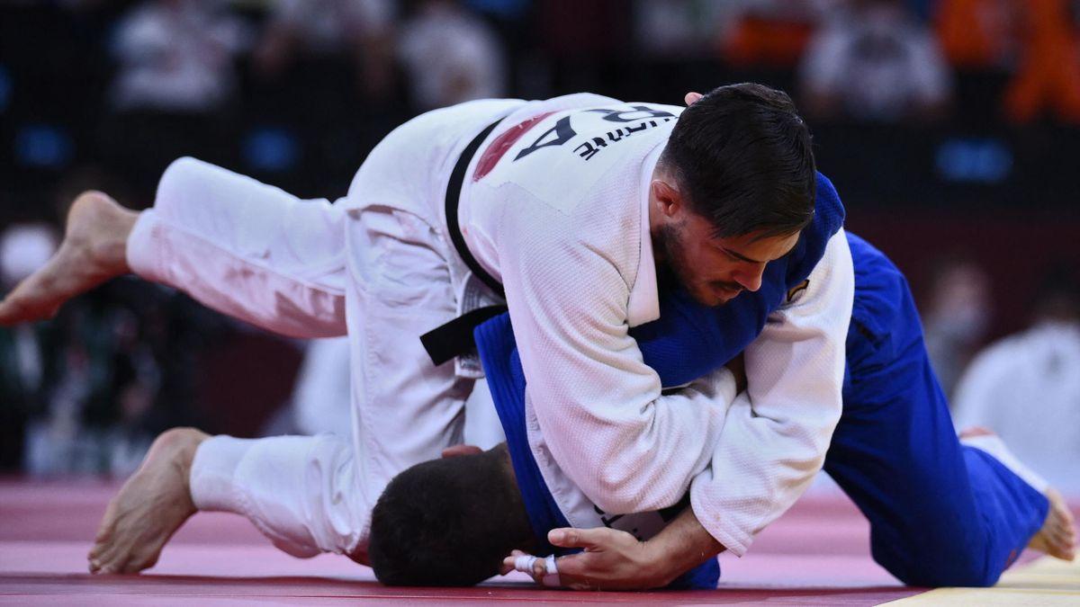 Guillaume Chaine lors des Jeux olympique de Tokyo 2020