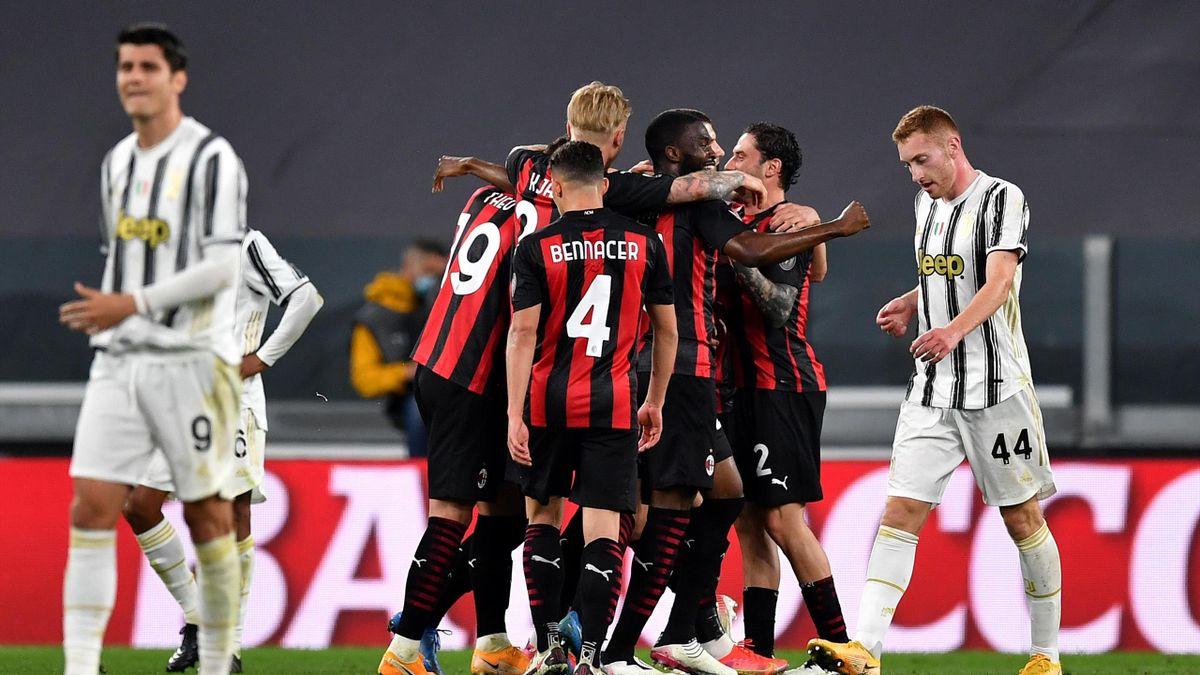 Juventus Milan 0-3