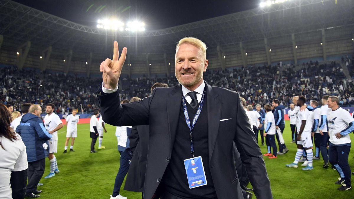 Igli Tare, le directeur sportif de la Lazio Rome