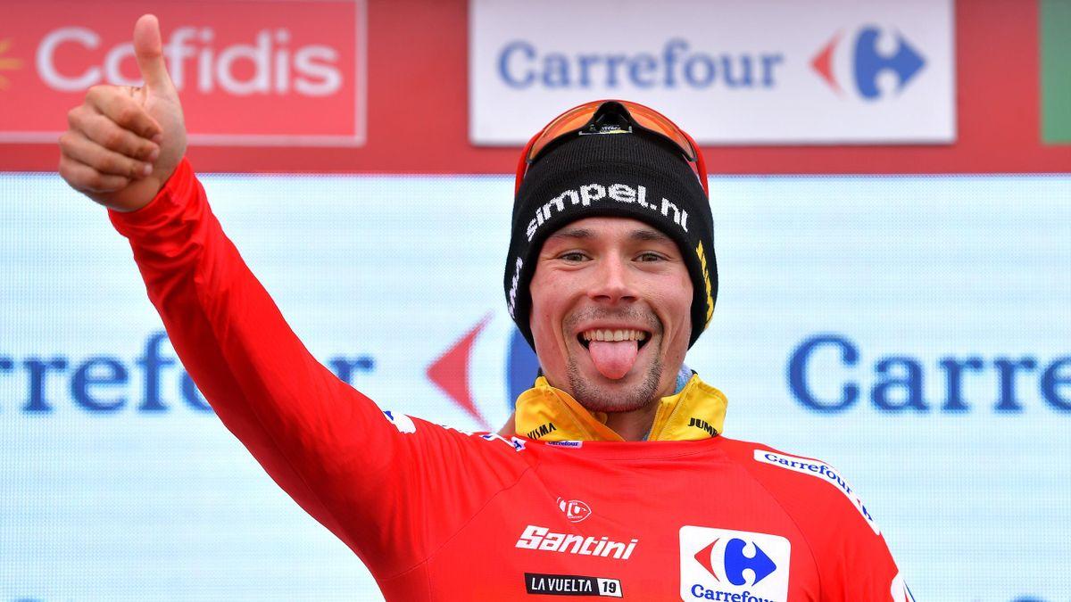 Primoz Roglic - stage 16 Vuelta 2019 - Getty Images