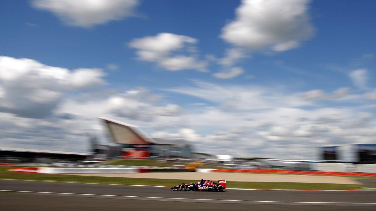 Jean-Eric Vergne (Toro Rosso) au Grand Prix de Grande Bretagne 2014