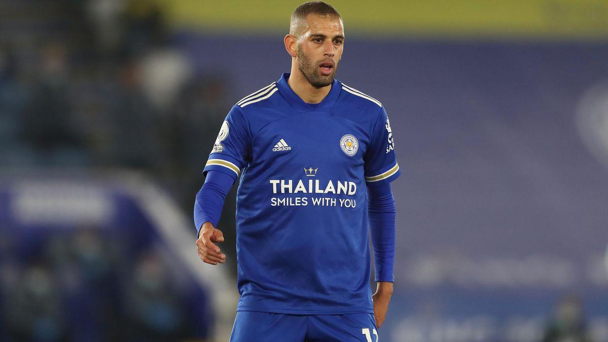 Depuis son retour à Leicester cet été, Islam Slimani a peu de temps de jeu.
