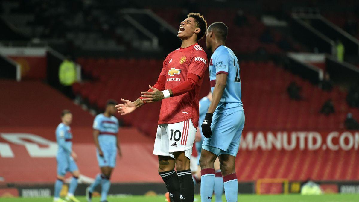 Marcus Rashford, «Manchester United»