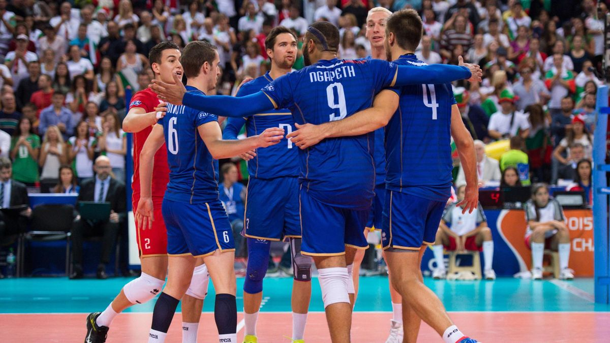 Ngapeth Toniutti Rouzier Le Roux - Equipe de France volley