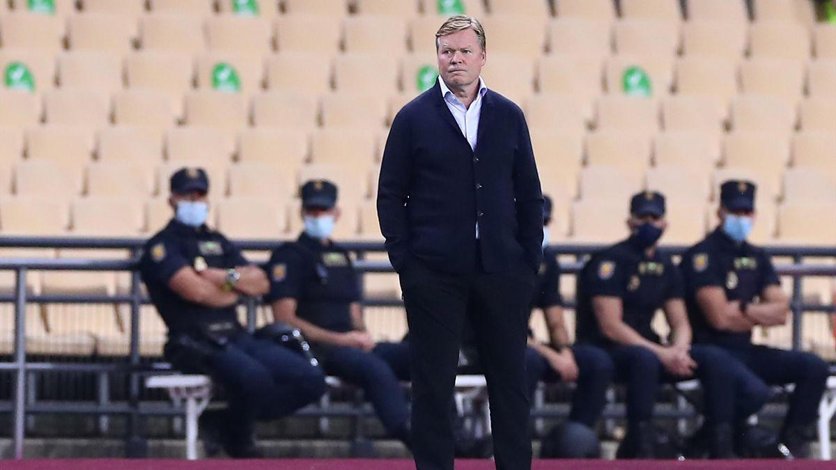 Barça-Trainer Ronald Koeman wurde für zwei Spiele gesperrt