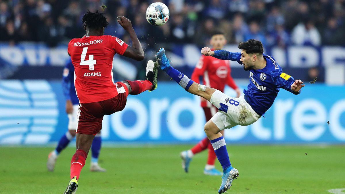 FC Schalke gegen Fortuna Düsseldorf
