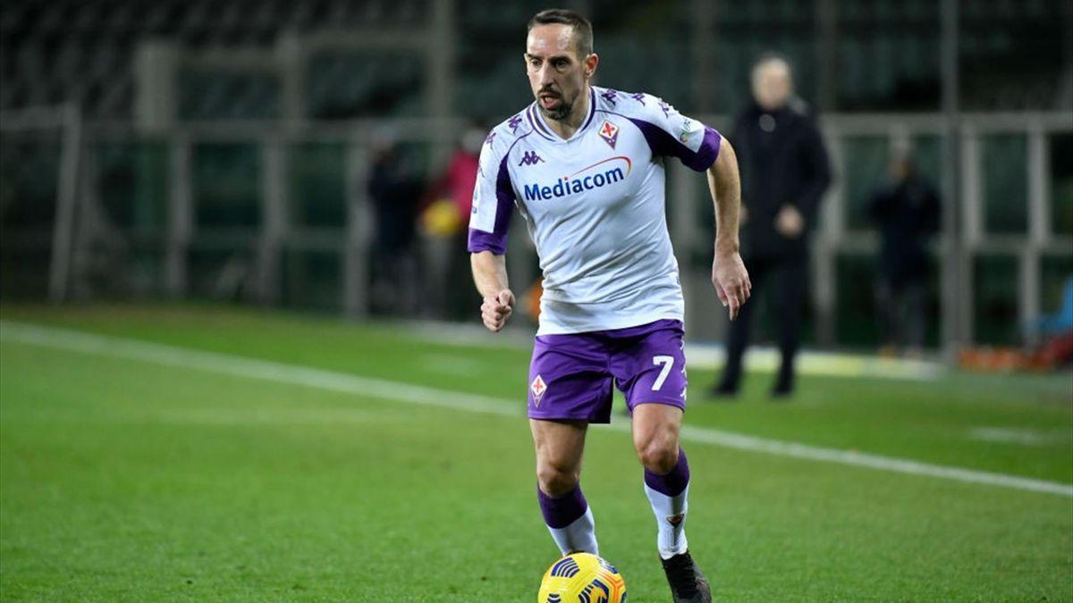 Ribery - Torino-Fiorentina - Serie A 2020/2021 - Getty Images