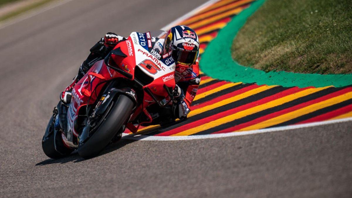Johann Zarco durante le qualifiche del GP di Germania di MotoGP - Mondiale 2021
