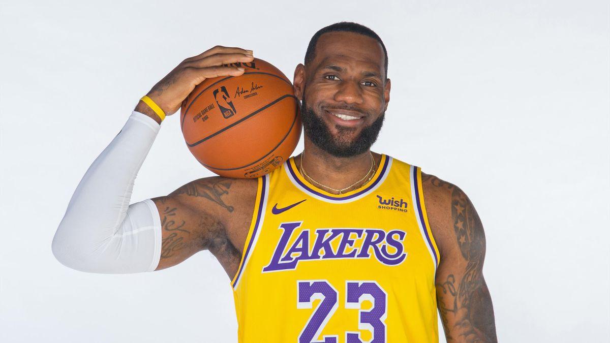 LeBron James, futur MVP de la saison
