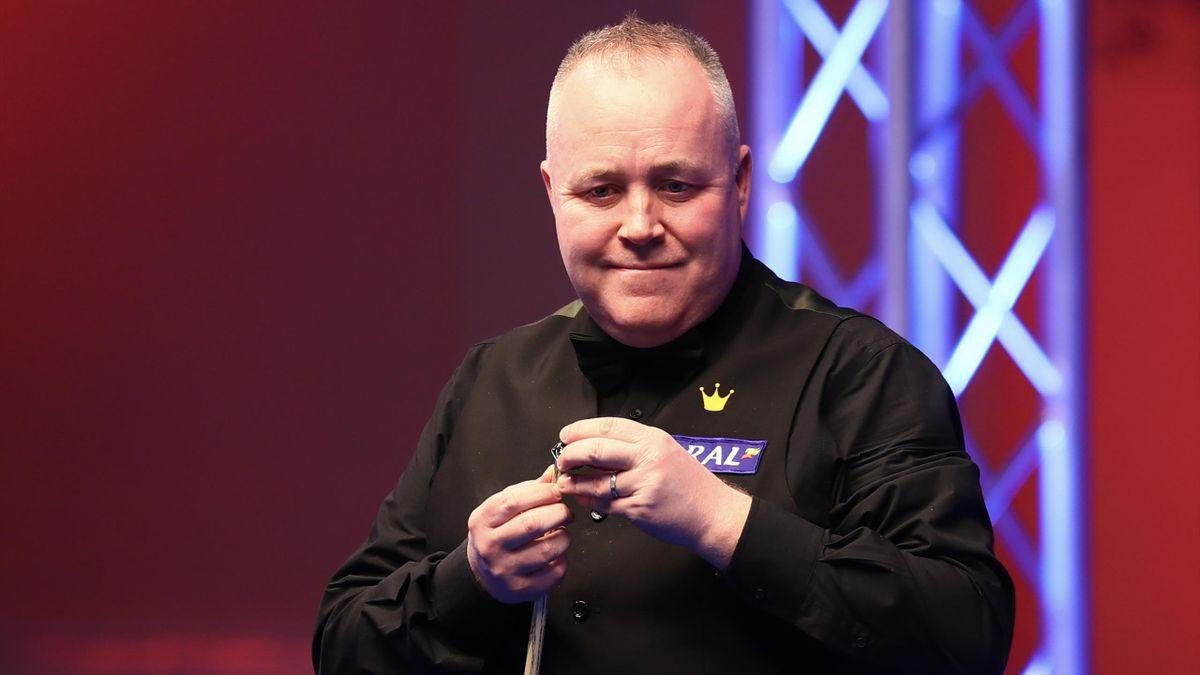 John Higgins a reușit break-ul maxim la  Crucible