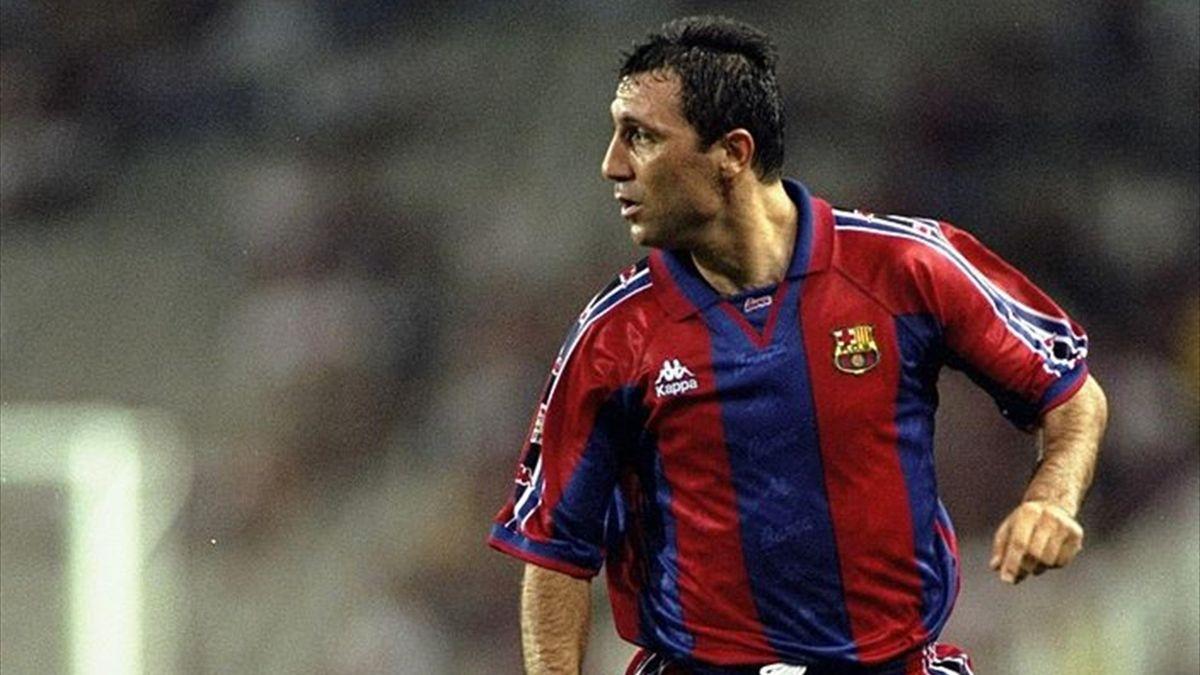 Hristo Stoichkov a cucerit 5 titluri pentru Barcelona