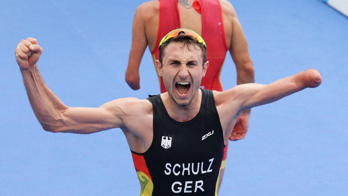 Martin Schulz gewinnt im Triathlon erstes Paralympics-Gold der Geschichte