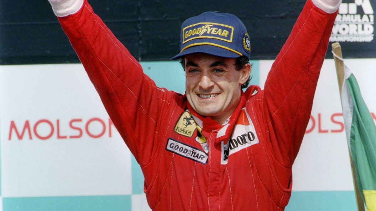 Jean Alesi (Ferrari) vainqueur du Grand Prix du Canada 1995