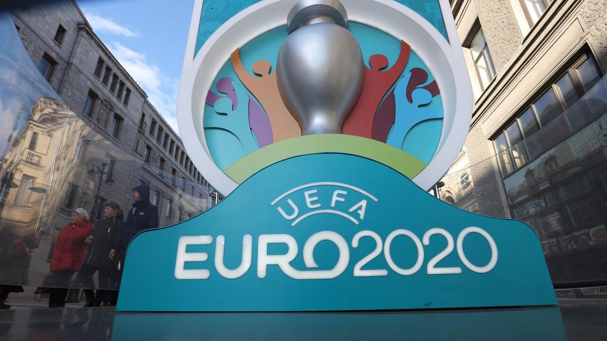 Le logo de l'Euro 2020